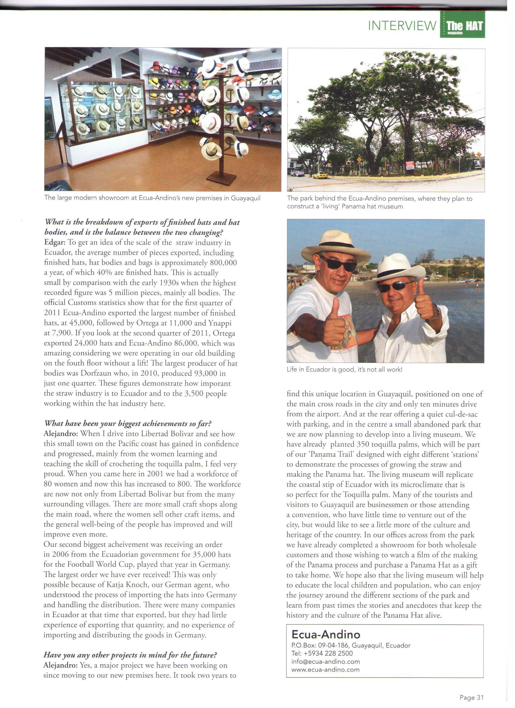 Revista Hat Magazine 2(3)