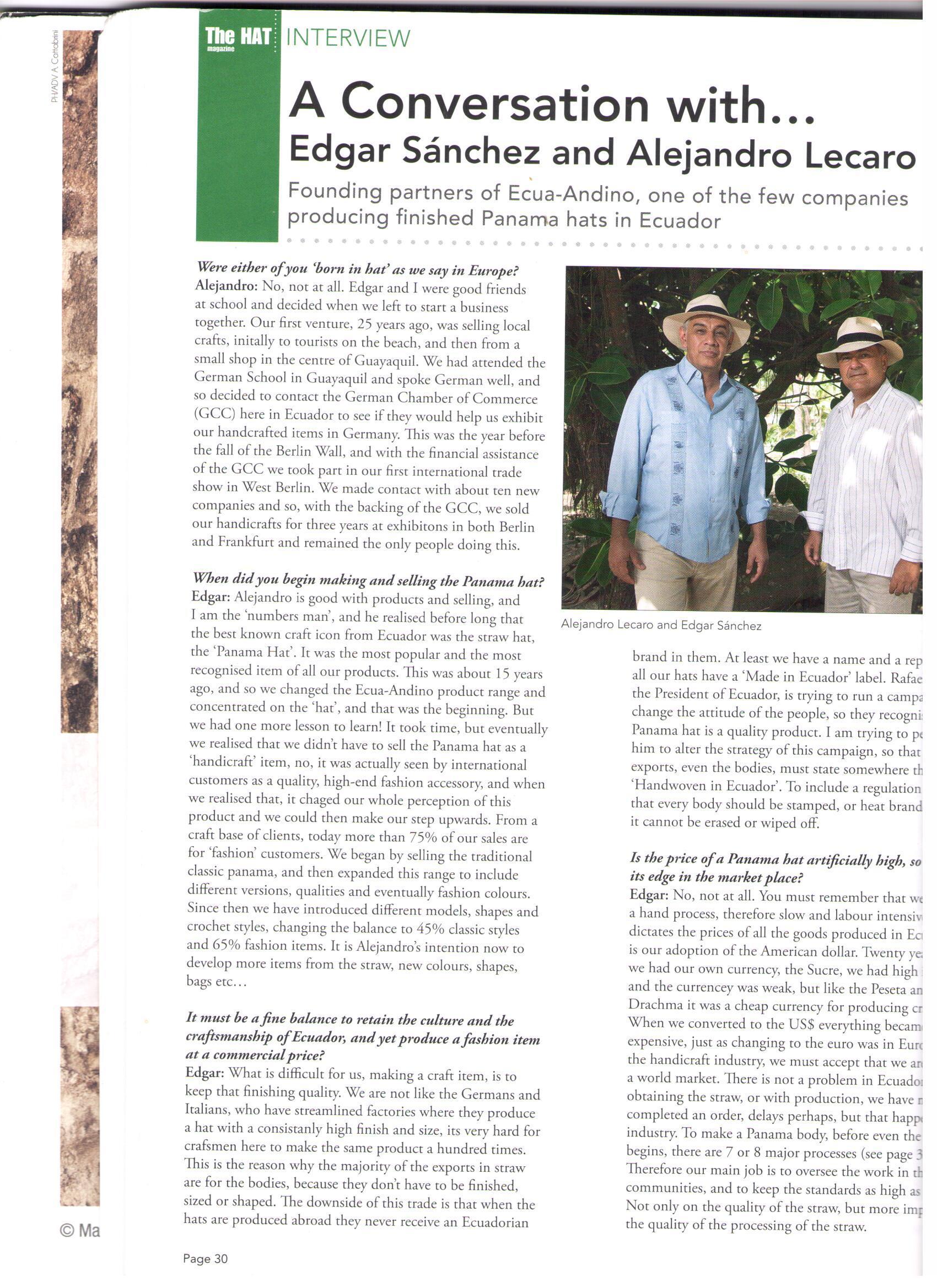 Revistar Hat Magazine 1