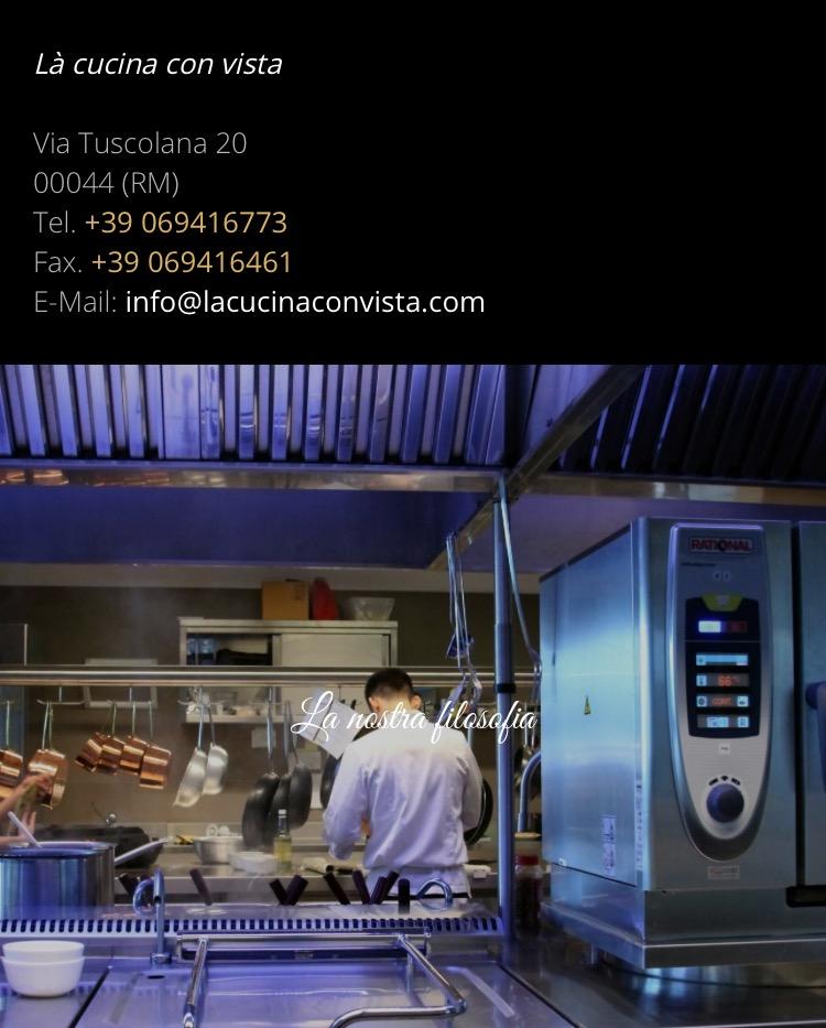 Là Cucina con Vista di Villa Mercede | Imperfecti